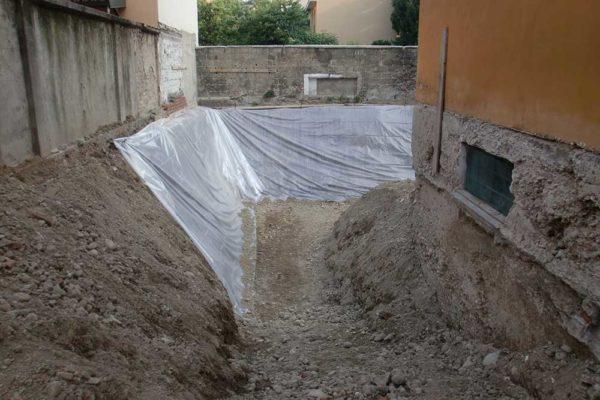 Arcolinea - Ristrutturazione villa Milano - cantiere