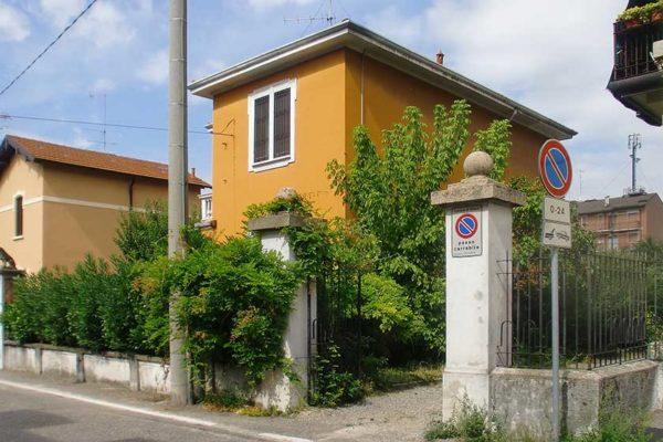 Arcolinea - Ristrutturazione villa Milano - prima