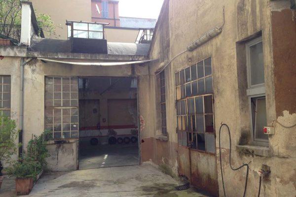 Arcolinea - Milano Via Abba - Palazzina residenziale - prima