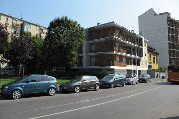 Arcolinea - Milano Via Abba - Palazzina residenziale - render