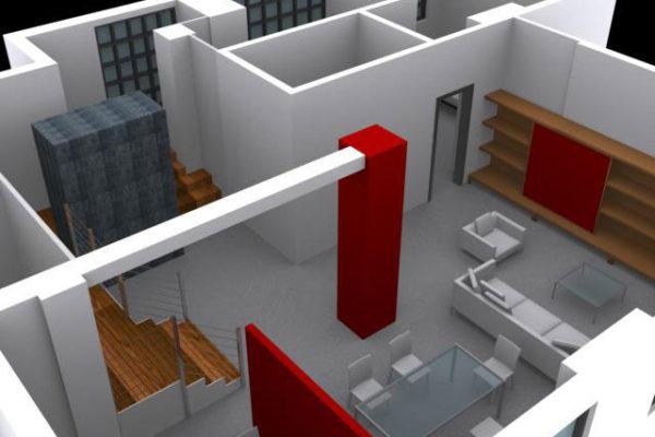 Arcolinea - Ristrutturazione magazzino in loft
