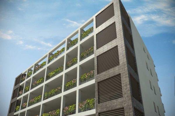 Arcolinea - Appartamenti Milano Via Ussi - Render