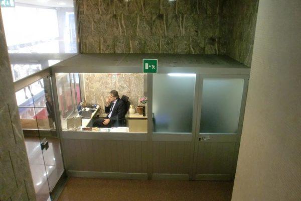 Arcolinea - Ristrutturazione ingresso Milano - Prima